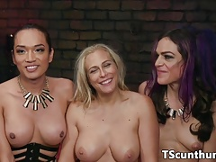 Threesome Transsexual..
