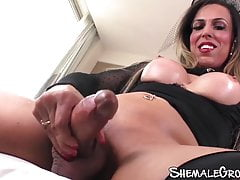 Big-titted tranny  giant..
