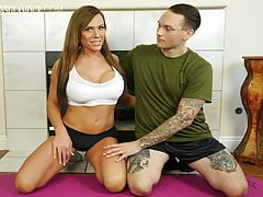 TGirl Trainer Gets Porked By..