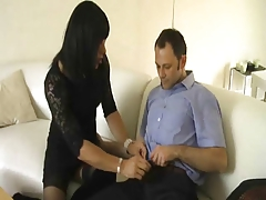 Crossdressing Oral Joy 1 of 4