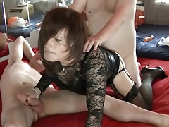 A jaw-dropping 3some with 2..
