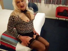 crazy transvestite tracy  in..