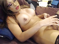 T-girl with glasses another..