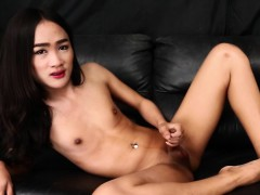 Asian tgirl solo conditions..