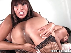 Vanity and Ava Devine anal..