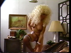 Tall t-girl in blonde  bj's..