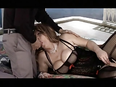 Lush t-girl romped by older..
