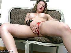 Tgirl in   unsheathes thick..